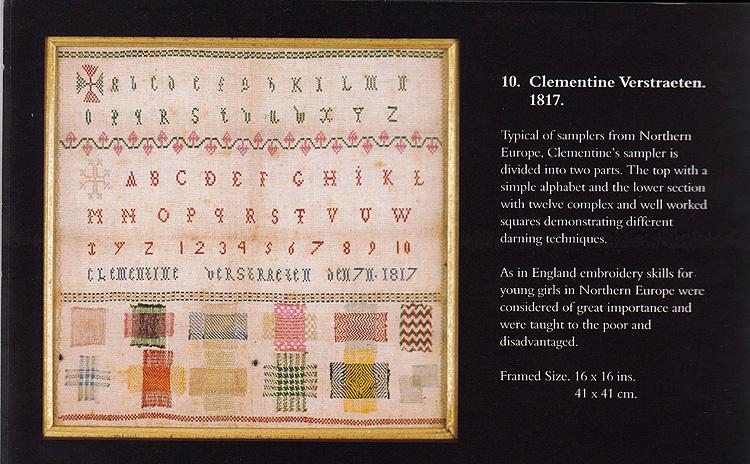 M  Verstraeten, Northern European, 1819